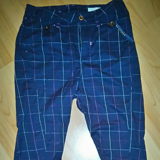 Gozo格子褲