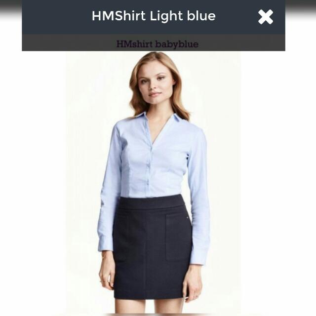 HMshirt Baby Blue
