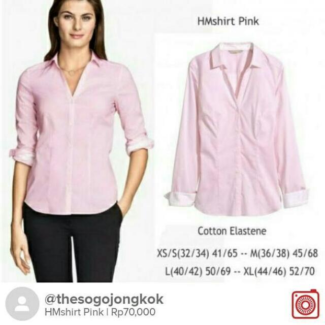 HMshirt Pink
