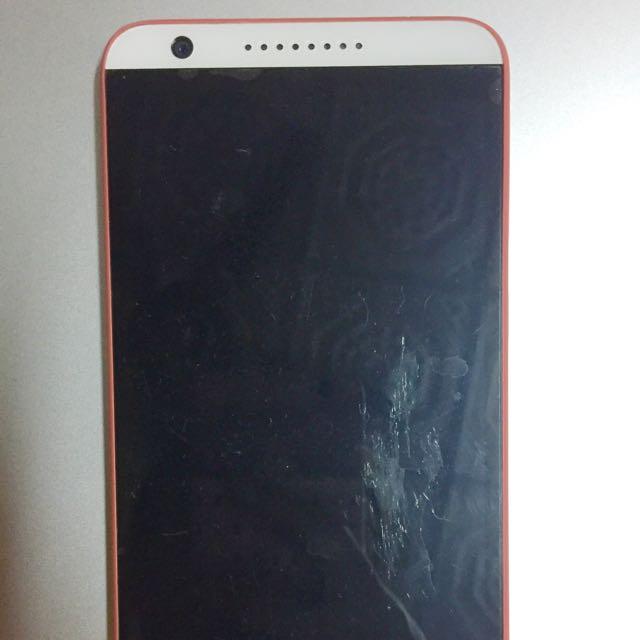 HTC desire820 橘白配色