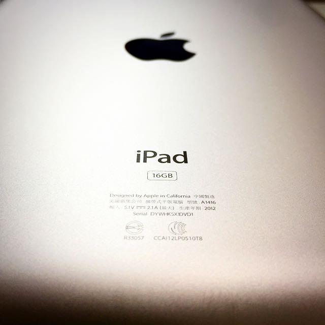 Apple iPad 2 16G 平板 大螢幕