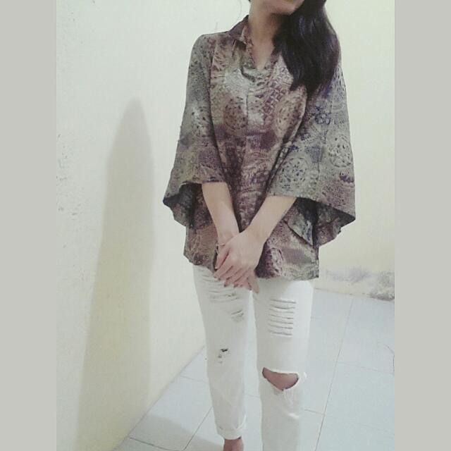 Kimono Batik Halus