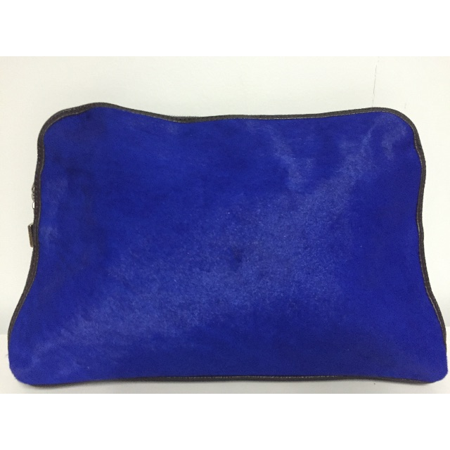 Louenhide Martina Pony Electric Blue Clutch