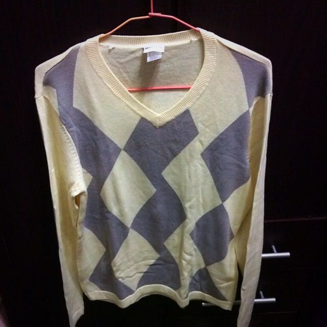 Mens Fashionable Office Sweater