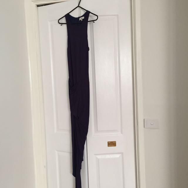 Navy Blue Size 6-8 Dress