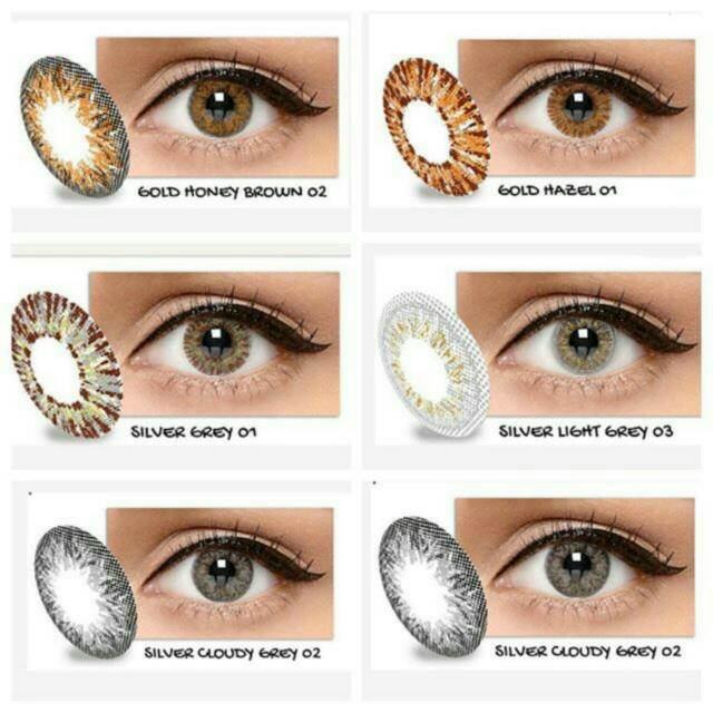 New Softlens X2 Ice Gold And Silver 7d50efbd8b