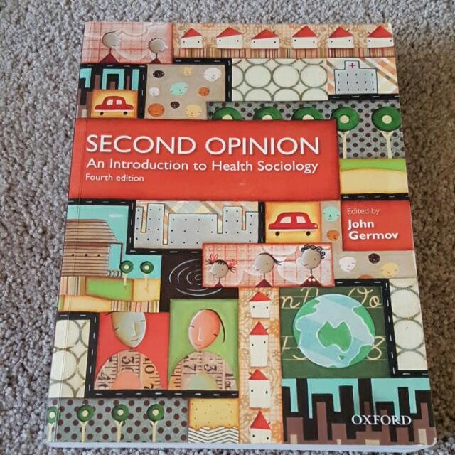 Oxford Second Opinion An Introduction To Health Sociology 4th Edition