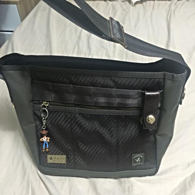 Porter限量版金標 肩背側背包