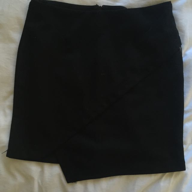Tempt Black Skirt