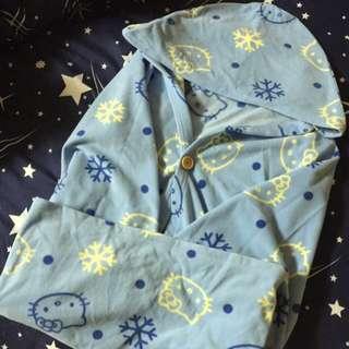 💖kitty凱蒂貓-連帽浴袍/冷氣毯/保暖毯,,
