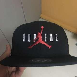 Supreme X Jordan Cap