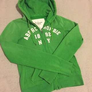 A&F 綠色外套