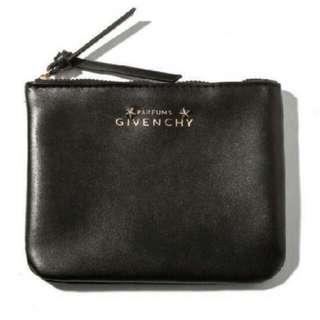 紀梵希經典款立體五角星logo化妝包 收納包 手機袋 證件包 手拿包