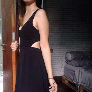 Supre   Little Black Dress   Skater Cutout