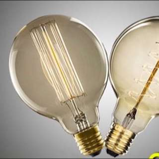 Used/Spoiled Edison Filament Bulb