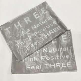 THREE 化妝袋、收納袋
