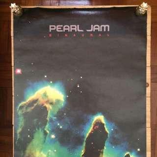 """Poster - Pearl Jam """"Binaural"""""""
