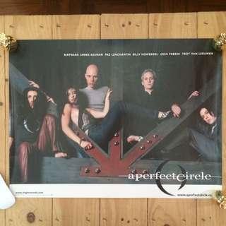 """Poster - A Perfect Circle """"Mer De Noms"""" (Tool)"""