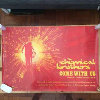 """Poster - Chemical Brothers """"Come With Us"""""""
