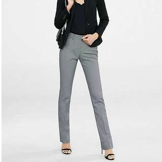 Brand New with Tag Birdseye Express Slim Leg Editor Pant Size 2 Short
