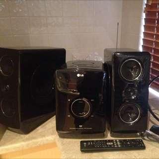 LG® Hi Fi/ Radio Sistem