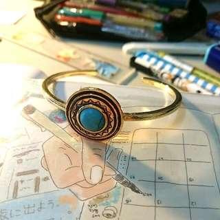Turquoise仿舊手環