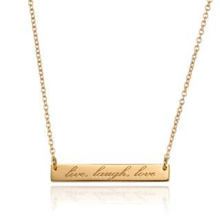 Samantha Wills 'Live Laugh Love' Gold Necklace