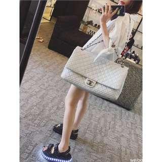 Angelababy同款燈鞋 2016新款韓版小香款 厚底燈光鞋涼鞋鬆糕露趾發光鞋LED燈光