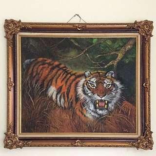 Lukisan Cat Minyak 2006 By Ines