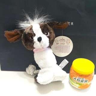 【全新】寵物用狗狗布料有聲啾啾玩具(站立狗)