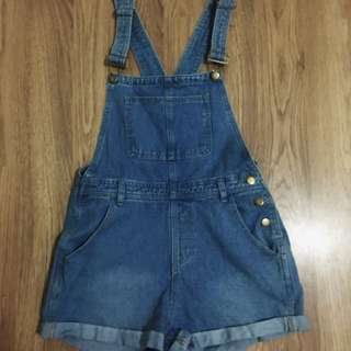 Valleygirl Denim Overalls