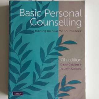 Counselling Psychology Textbook