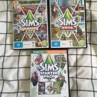 Sims 3 Expansion Packs
