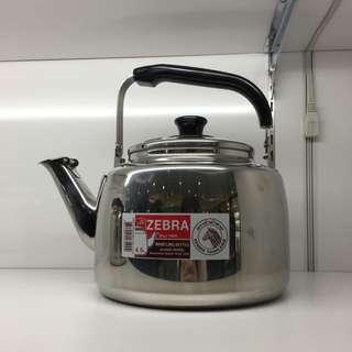 斑馬笛音茶壺