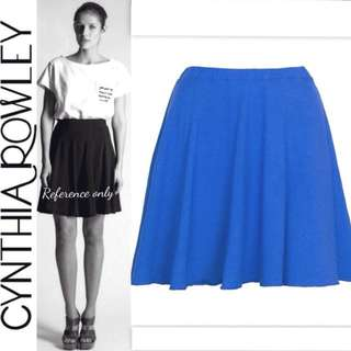 Cynthia Rowley Flare Skirt Biru