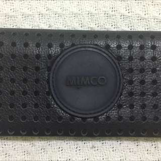 EUC MImco blue Mechanica Wallet