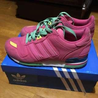 Adidas Zx700 女鞋 少量粉紅色