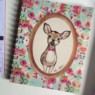 brand new typo notebook