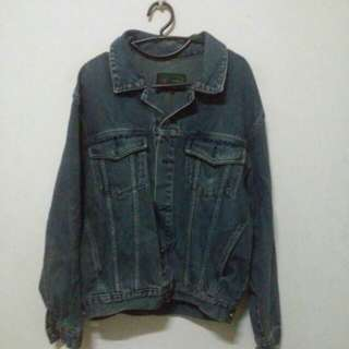 (Incl. Deli) Sequin Jeans Jacket (Incl. Delivery)