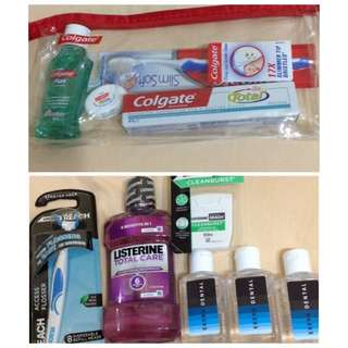 THE LOT Colgate And Listerine Products