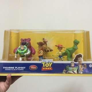 迪士尼玩具總動員人偶組
