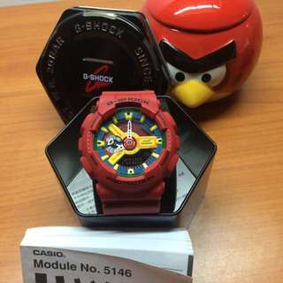 G-Shock 紅樂高 GA110