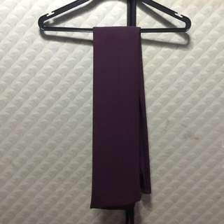 (PENDING) Purple Chiffon Shawl From Poplook