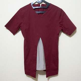 ✨ Baju Merah Hati