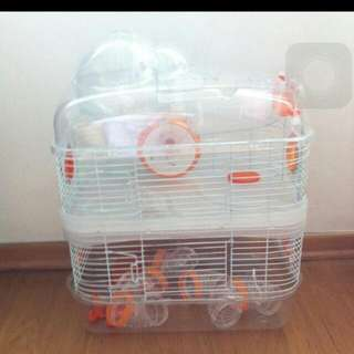 3 Storey Cage With Accessories