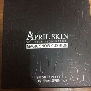 全新April Skin Magic Snow Cushion #22