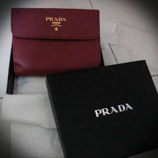 Prada Short Wallet