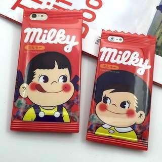 日本不二家糖果iPhone6s/plus保護套手機殼