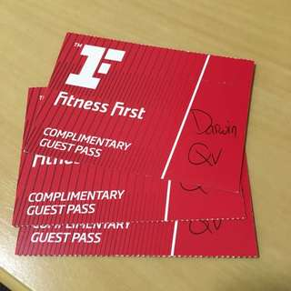 Fitness First Complementary Guest Pass