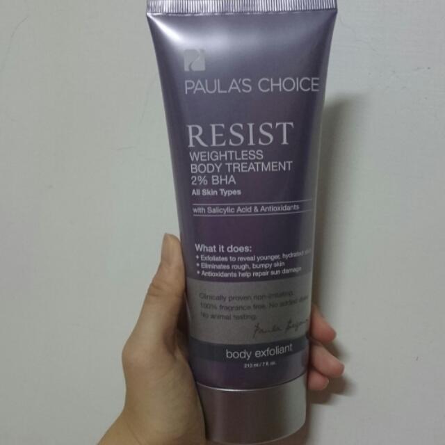 寶拉珍選 抗老化柔膚2%水楊酸身體乳(保留中)